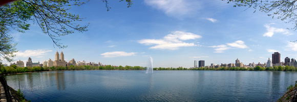 Central Park Reservoir Panorama