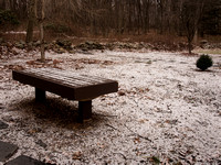 Dusted Bench